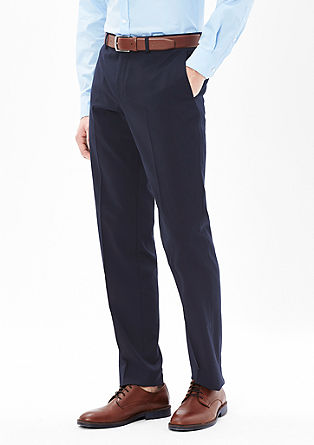 Extra Slim: Classic business trousers from s.Oliver