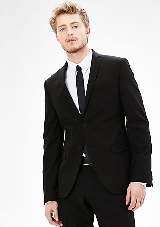 Extra Slim: classic tailored jacket from s.Oliver