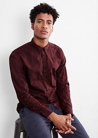 Extra Slim: Gemustertes Hemd