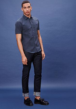 Extra Slim: Hemd mit schmalen Streifen