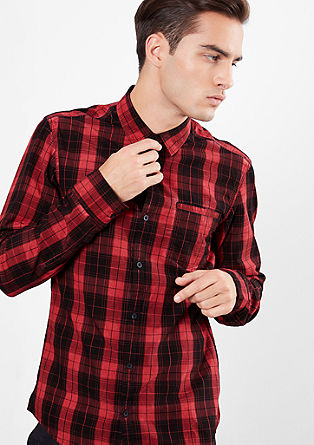 Extra Slim: srajca, barvana s hladnim postopkom pigmentiranja