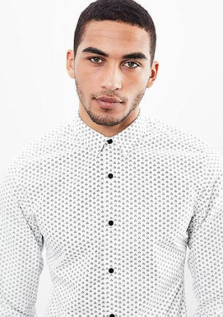 Extra Slim: Vzorčasta srajca