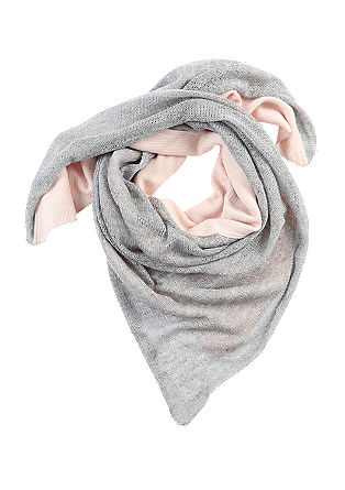 Fabric mix scarf from s.Oliver