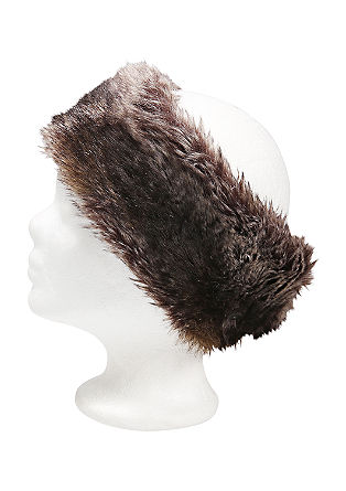 Fake fur headband from s.Oliver