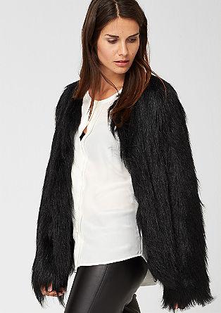 Fake fur jacket from s.Oliver