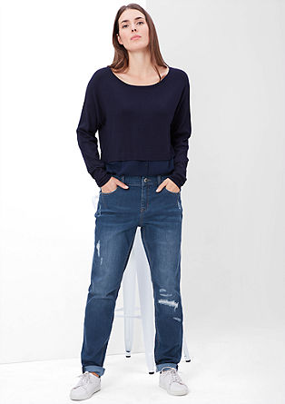 Fancy Fit: distressed jeans from s.Oliver