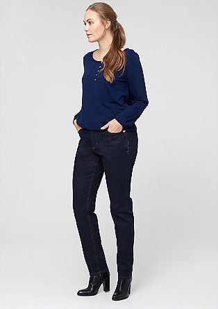 Fancy Fit: Dunkle Stretch-Jeans