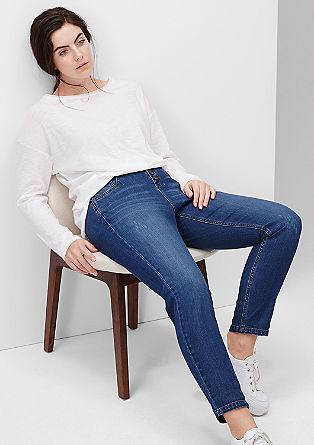 Fancy fit: enkellange jeans
