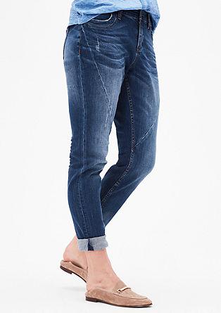 Fancy Fit: jeans hlače raztrganega videza