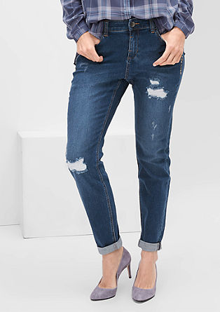 Fancy fit: jeans met studs