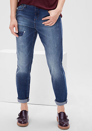 Fancy Fit: Jeans mit Used-Effekt