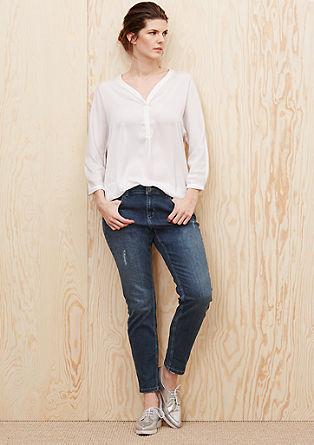 Fancy Fit: jeans z raztrganinami