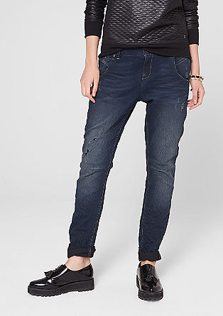 Fancy Fit: Legere Used-Jeans