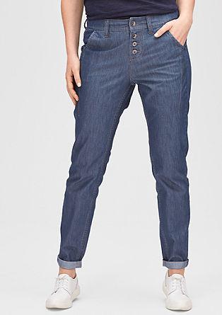 Fancy fit: luchtige jeans