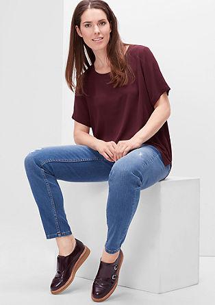 Fancy Fit: svetle jeans z raztrganinami