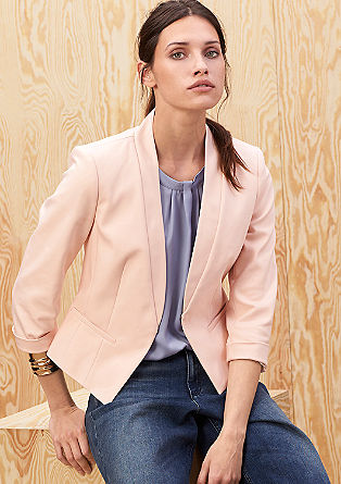 Fashionable stretch blazer from s.Oliver