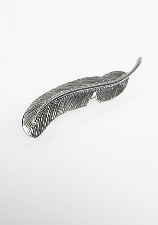 Feather brooch from s.Oliver