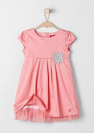 Feestelijke jurk met tulen galon