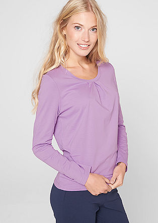 Feminine long sleeve top from s.Oliver