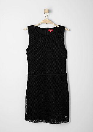 Figurbetontes Netz-Kleid