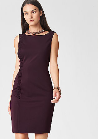 Figure-defining stretch dress from s.Oliver