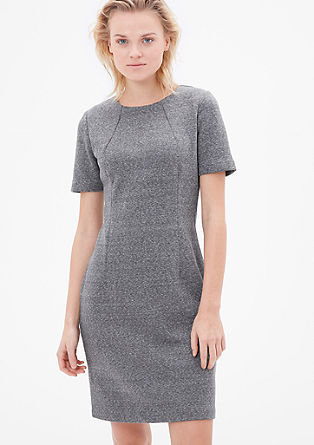 Figure-defining sweatshirt dress from s.Oliver