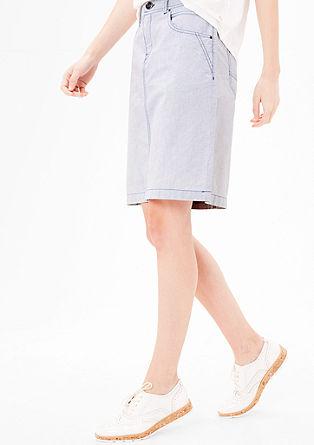 Fijn gestructureerde rok