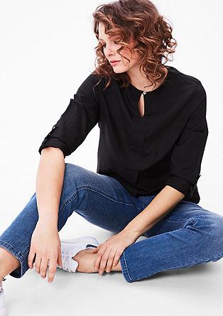 Fijne blouse van batist