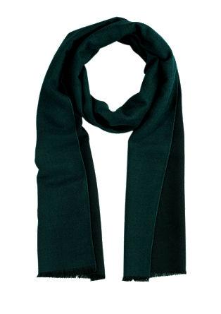 Fijne sjaal met bicolour look
