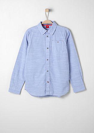 Fijngestreept overhemd