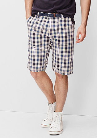 File Loose: check Bermudas from s.Oliver