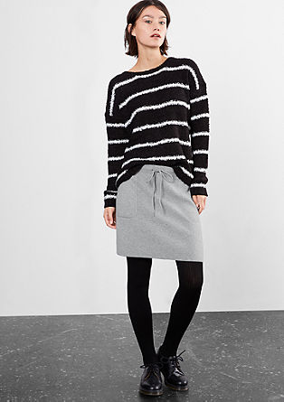 Fine knit stretch skirt from s.Oliver
