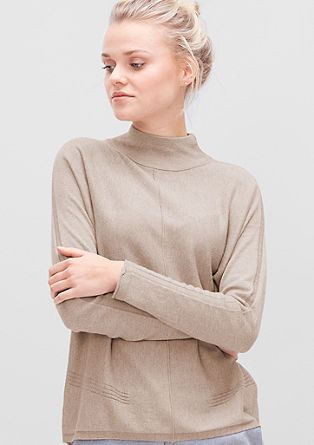 Fine knit turtleneck jumper from s.Oliver