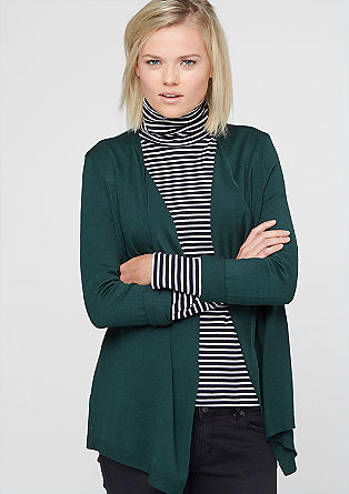Fine knit viscose cardigan from s.Oliver
