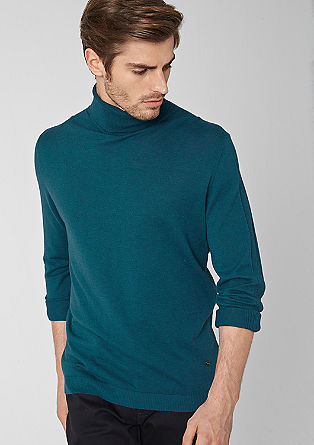 Fine polo neck jumper from s.Oliver