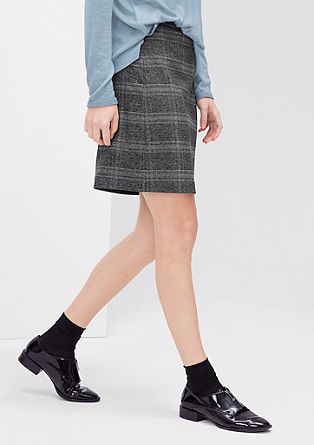 Fine stretch skirt from s.Oliver