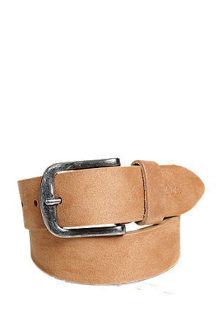 Fine suede belt from s.Oliver
