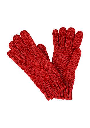 Fingerhandschuhe im Strukturmix