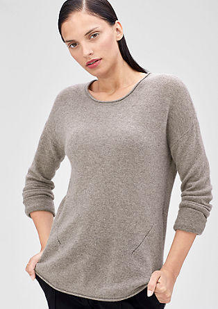 Fino pleten pulover iz kašmira