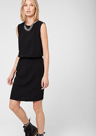 Fitted crêpe dress from s.Oliver