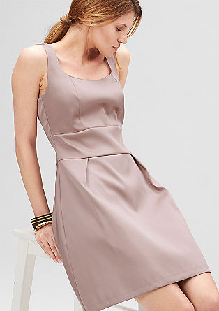 Fitted satin dress from s.Oliver