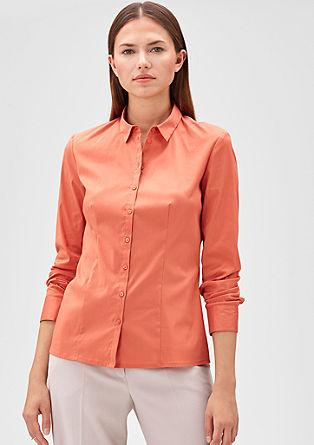 Fitted shirt blouse from s.Oliver