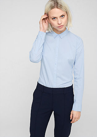 Fitted stretch blouse from s.Oliver