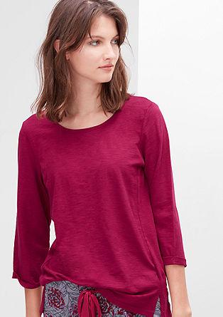 Flammgarn-Shirt aus Baumwolle