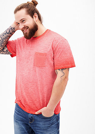 Flammgarn-Shirt in Pigment Dye