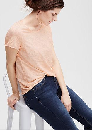Flammgarn-Shirt mit Wascheffekt