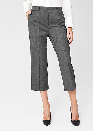 Flannel culottes from s.Oliver