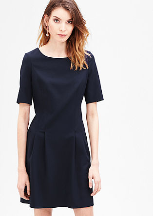 Flared stretch dress from s.Oliver