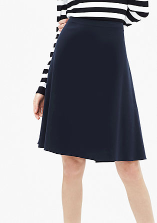 Flared stretch skirt from s.Oliver