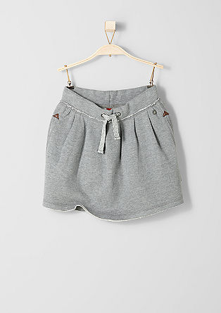 Flared sweatshirt skirt from s.Oliver